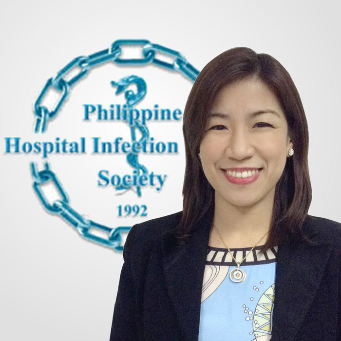 Evalyn A. Roxas, MD, MPH, FPCP, FPSMID Vice-President and Overall Chair